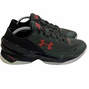 Under Armour Curry 2 Low Sneaker Combat Green